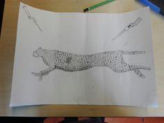 Dit is mijn laatste foto van.mijn cheetah. Ik vind de shotgun rechtsboven moeilijk