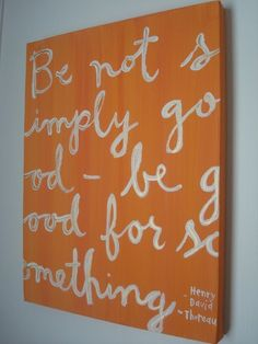 Thoreau, my hero.