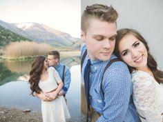 Shayla & Cameron   Spring Hollow Engagement Pictures   Kylee Ann Photography   Logan Utah Wedding Photographer