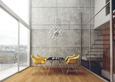 LOFT rendering on Behance
