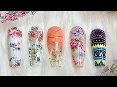 COMO APLICAR FOIL super FACIL / Nail Secret - YouTube Manicure Y Pedicure, Foil Nails, Nail Polish Designs, Nail Tutorials, Acrylic Nails, Nail Art, Instagram, Youtube, Color
