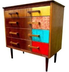 Upcycled vintage furniture by camille