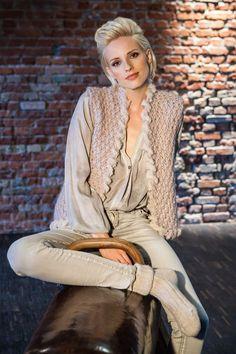 Lana Grossa WESTE IM REISMUSTER Molle - FILATI Handstrick No. 58 (Home) - Modell 35 | FILATI.cc WebShop