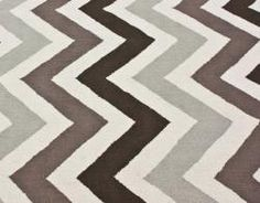 @Overstock - Invoke the feel and warmth of a country home with this stunning woolen hand-hooked rug. Meticulously made using a petit point stitches construction, make your favorite space feel right at home.http://www.overstock.com/Home-Garden/Handmade-Luna-Chevron-Wool-Rug-76-x-96/6628882/product.html?CID=214117 $350.99
