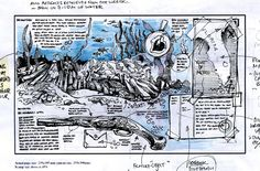 Scamp study for DK Shipwreck Detective Whydah Pirate Wreck spread. www.duncancameron.org