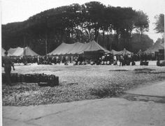 After being moved out from Stalag VIIA after liberation, the POW's went to camps to wait out being shipped home. This is camp Lucky Strike. Pic from Stalag Luft III website.