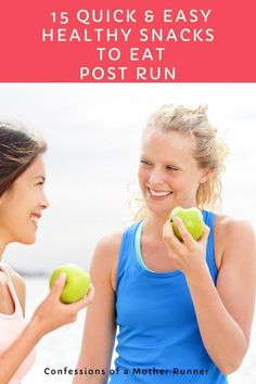 Refuel after your run with these 15 healthy & quick snack ideas Running Workouts, Running Tips, Cardio Workouts, Quick Healthy Snacks, Healthy Life, Healthy Food, Healthy Living, Low Sugar Protein Bars, Fitness Tips
