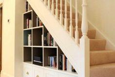Genius Under Stairs Storage Ideas For Minimalist Home 51 Stair Storage, Built In Storage, Triple Bunk Beds Plans, Storage Ideas, Storage Spaces, Smart Closet, Home 21, Multifunctional Furniture, Under Stairs