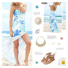 """""""You Can Find Me Where The Music Meets The Ocean - Yoins 15"""" by paradiselemonade ❤ liked on Polyvore featuring Luli, yoins, yoinscollection and loveyoins"""