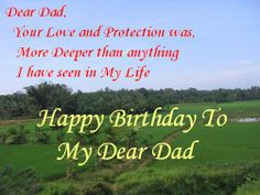 Birthday Wishes For Father In Heaven ~ Pic quotes for father brithday birthday wishes for father