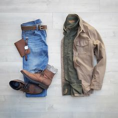 3 Fresh Fall Outfits For Men - Men's style, accessories, mens fashion trends 2020 Rugged Style, Fashion Models, Mens Fashion, Fashion Trends, Fashion Suits, Fashion Clothes, Fashion News, Casual Outfits, Men Casual