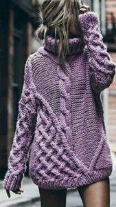 платье свитер оверсайх