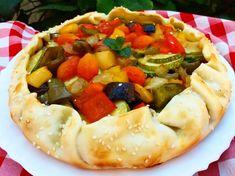 masa tarta salada Vegetable Pizza, Pie, Vegetarian, Vegetables, Desserts, Food, Noodle, Recipes, Italian Recipes