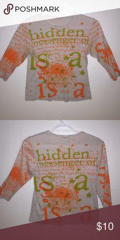 Great Glima shirt 100% cotton. A fun shirt Glima Tops Tees - Long Sleeve