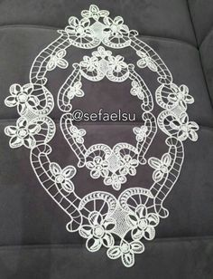 This Pin was discovered by Nur Freeform Crochet, Crochet Lace, Fabric Stiffener, Romanian Lace, Point Lace, Needle Lace, White Embroidery, Lace Making, Cutwork