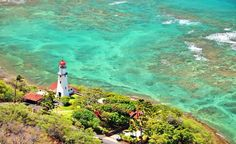 Beautiful lighthouse in Waikiki. #Hawaii