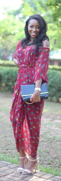 The Iro and Buba by That Igbo Chick. ~Latest African Fashion, African Prints, African fashion styles, African clothing, Nigerian style, Ghanaian fashion, African women dresses, African Bags, African shoes, Kitenge, Gele, Nigerian fashion, Ankara, Aso okè, Kenté, brocade. DK