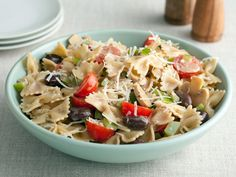 Paula's Italian Pasta Salad recipe from Paula Deen via Food Network