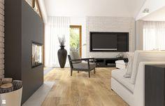 Dom w Milanówku - zdjęcie od WERDHOME - Salon - Styl Skandynawski - WERDHOME