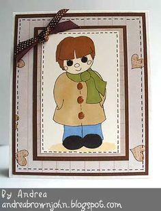 A cute card making idea