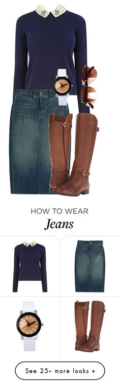 """""""Fall Fashion 2015"""" by myfriendshop on Polyvore featuring Oasis, J Brand and Naturalizer"""