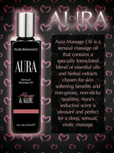 Aura Pure Romance book your Pure Romance party with me @ www.pureromance.com/angelinasilvio