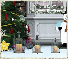 Candle lighting by Milana and Yarona - Sims 3 Downloads CC Caboodle