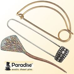 Paradise Exotic Shawl Pins Knitting Patterns, Crochet Patterns, Online Yarn Store, Knitting Help, Sock Yarn, Craft Stick Crafts, Shawl, Exotic, Paradise