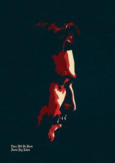 Daniel Day-Lewis Digital Illustration by Parveen Verma, via Behance