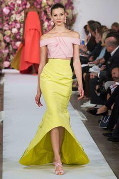 #NYFW Oscar de la Renta S/S 15 RTW...Drops mic - NY Fashion Week NYFW
