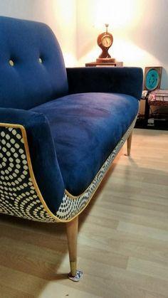 Sillones Retro Vintage. Hay varias telas, colores y tamaños.  Consulta por tu diseño personalizado. ¡Envíos a todo el país! WEB: https://www.facebook.com/retromueble    #mueble #diseño #retro #vintage #venta #design #furniture #sale #custom #interiores #decoracion #deco