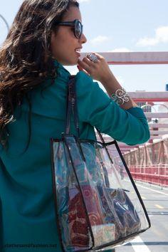 Clear handbag clothesandfashion.net