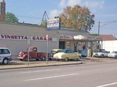 vinsetta garage Royal Oak Michigan, Car Places, Detroit History, Michigan Travel, New Times, Buy Local, My Town, Old Things, Cars