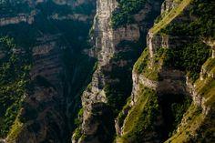 Горные склоны.  Северный Кавказ. Дагестан, Россия © Шамиль Магомедов