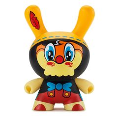 No Strings On Me 8 inch Dunny by WuzOne x Kidrobot