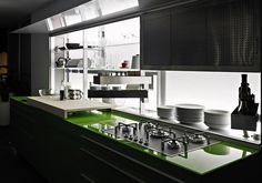 Kitchen cabinet - New Logica System from Valcucine