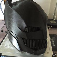 #batman #batmanvsuperman #helmet #3dprinted #afinibota5 #afinibota9 by kasper3dprint
