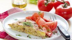 Ham, Pea and Potato Frittata - RTE Food