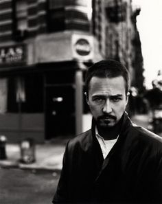 Edward Norton. love edward norton, but I also used to live there. I could see that diner from my living room. And I think they used to put coconut cream in their french toast. Now it's a trendy restaurant.