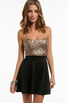 Sparkly tank @Jess Pearl Pearl Liu Ann...good for sparkle night of your bachelorette party ;)