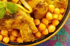 Gluten-Free Moroccan Chicken with Cauliflower and Cashews