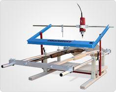 Дупликарвер-3 — копировально-фрезерный станок для длинномерной и скульптурной резьбы