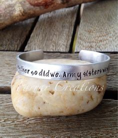 Personalized Cuff Bracelet   Hand Stamped by FarrarCreations, $23.00
