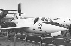 Saunders-Roe SR.53 - Interceptor aircraft. First flight on 16 May 1957