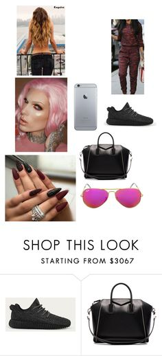 """""""Shopping And Baking Cupcakes With India"""" by paukar ❤ liked on Polyvore featuring adidas, Givenchy and Ray-Ban"""