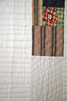 Hope as the Anchor of the Soul, Mount Lebanon Series, detail of Quilt #4    Denyse Schmidt Quilts
