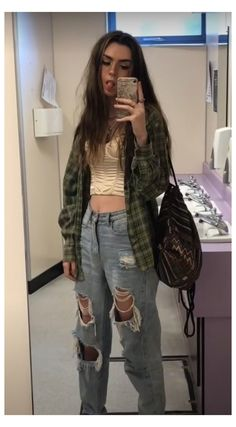 Indie Outfits, Edgy Outfits, Cute Casual Outfits, Fashion Outfits, Grunge School Outfits, Cute Grunge Outfits, Fasion, Vintage Outfits, Retro Outfits
