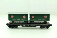 O Lionel Rea Railway Express Agency Flatcar with Piggyback Trailers 6 26065 | eBay