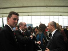 Prince Jorge Rurikovich and Prince Alex Rurikovich with His Excellency, The Ambassador of Morocco, Fadel Benaich