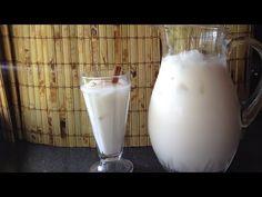 Agua de Horchata receta deliciosa